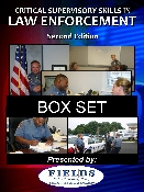 Critical Supervisory Skills in Law Enforcement Box Set