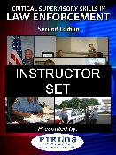 Critical Supervisory Skills in Law Enforcement Instructor Set
